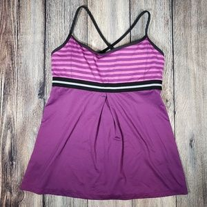 Lucy Power tank top large purple
